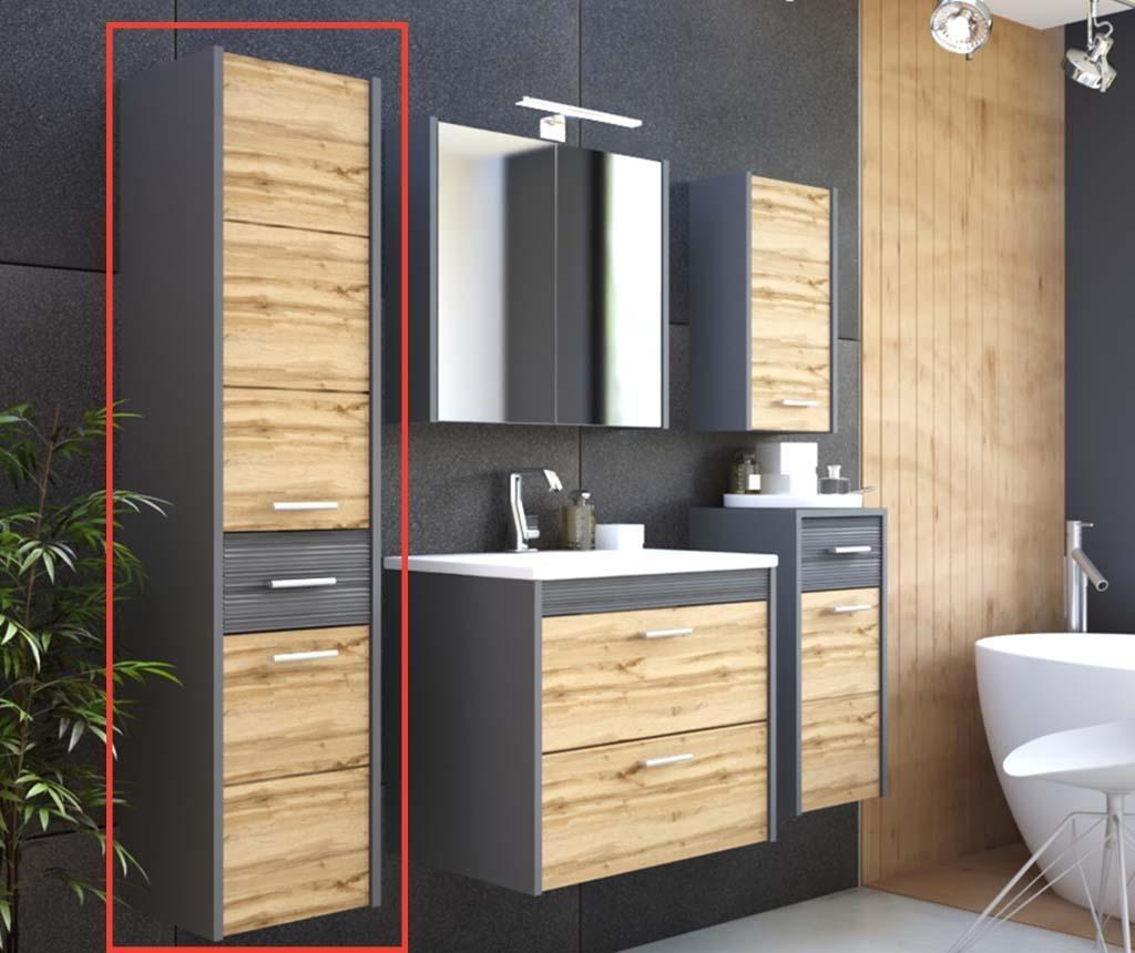 Viseči element Ibiza Anthracite and Wood
