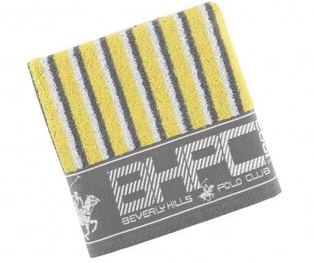 Ręcznik kąpielowy Stripes Yellow & Grey 50x100 cm