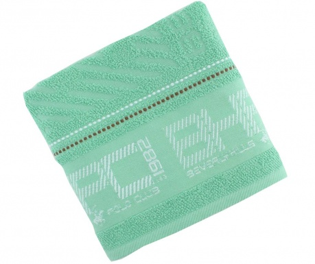 Ręcznik kąpielowy Soft  Light Green 50x100 cm
