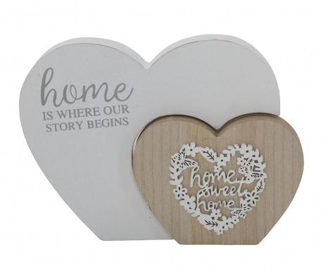 Dekorácia Wooden Hearts