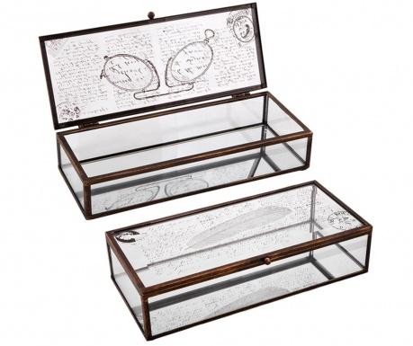 Комплект 2 кутии с капак Pluma
