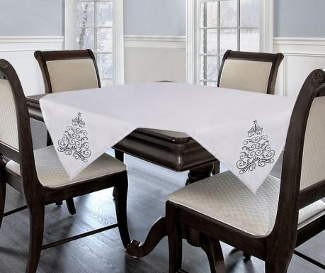 Centralna podkładka stołowa Swirls White 85x85 cm