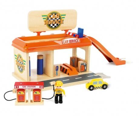 Zabawkowy serwis samochodowy Play and Fun