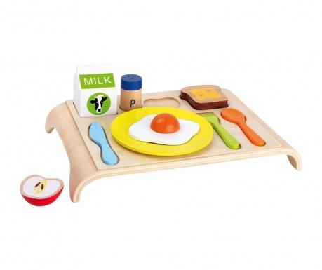 Zestaw 10 zabawek śniadaniowych Good Morning
