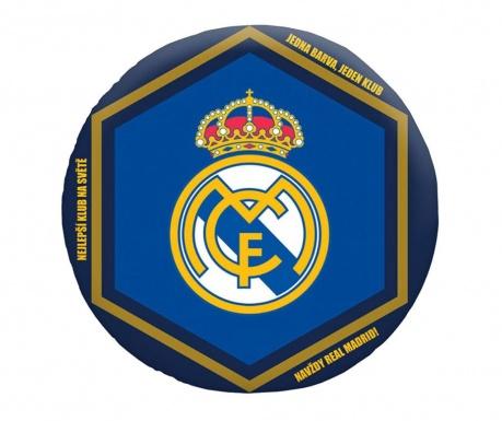 Dekoračný vankúš Real Madrid Club Shape 35x35 cm