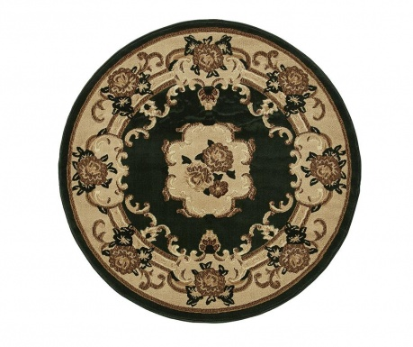 Dywan Marrakesh Dark Green Circle 140 cm