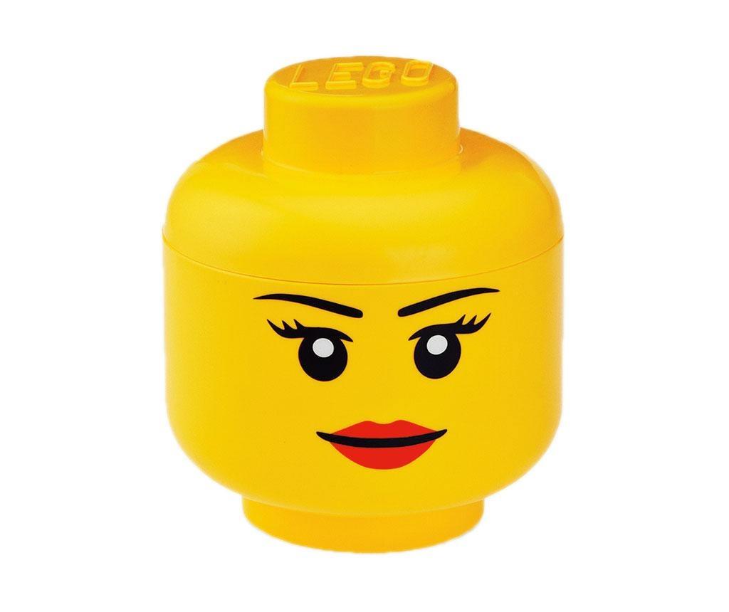 Lego Pretty Girl Doboz fedővel M