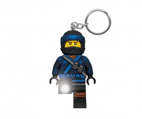 Obesek za ključe z lučko Lego Ninjago Jay