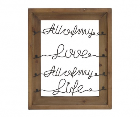 Decoratiune de perete Life