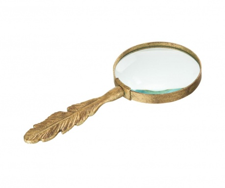 Lupa decorativa Feather