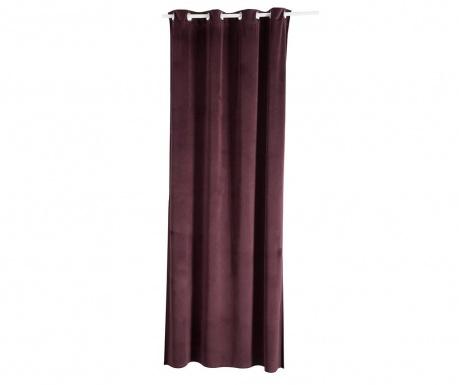Zasłona zaciemniająca Velvet Purple 135x270 cm