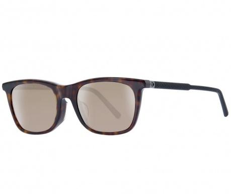 Montblanc Havana Rectangular Férfi napszemüveg
