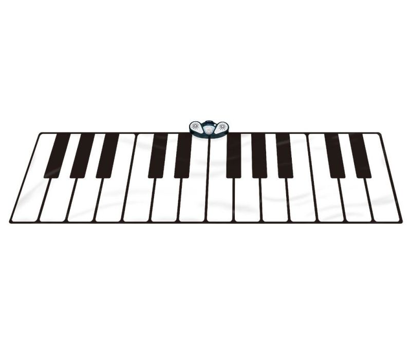 Tepih s  glazbenim aktivnostima Gigantic Keyboard 74x180 cm
