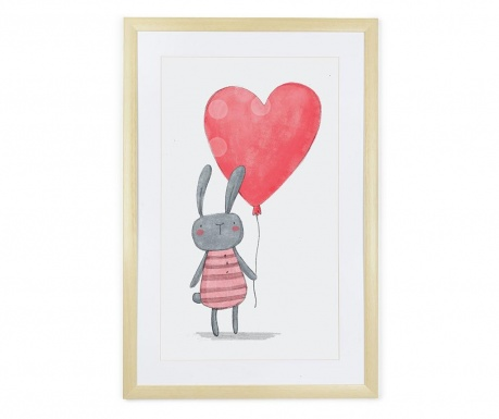 Slika Rabbit Heart 40x60 cm