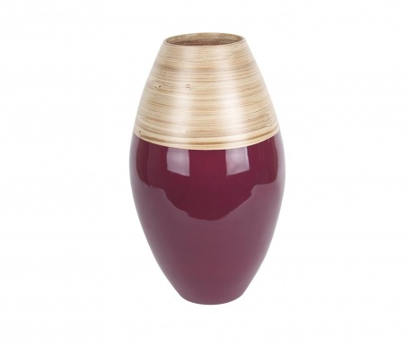 Vaza Cone Burgundy