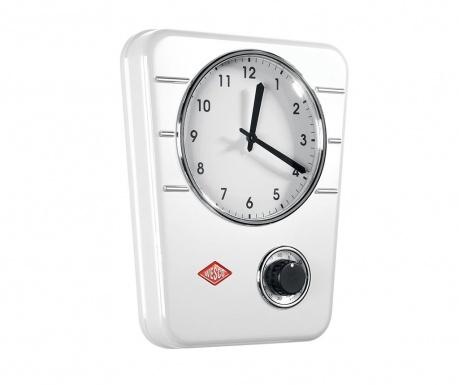 Nástěnné hodiny Classic White