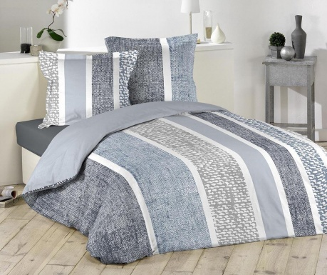 Zestaw na łóżko King Textilio Blue