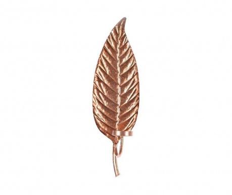 Zidni držač za svijeću Bronze Leaf