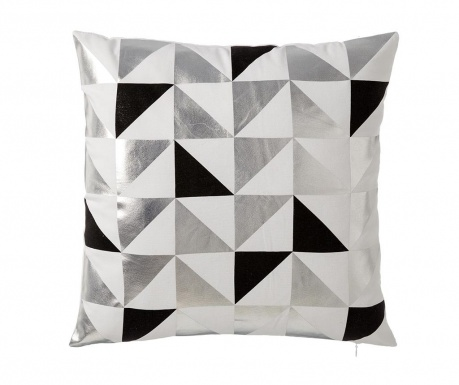 Dekorační polštář Geometrico Black 45x45 cm