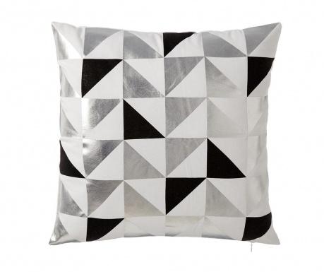 Perna decorativa Geometrico Black 45x45 cm
