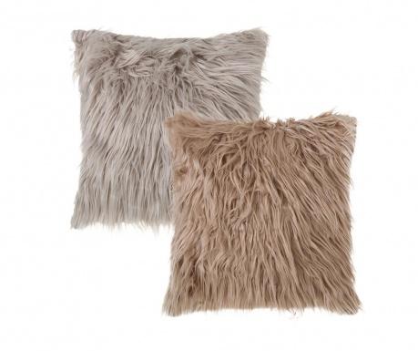 Set 2 ukrasna jastuka Nordico Flufo 45x45 cm