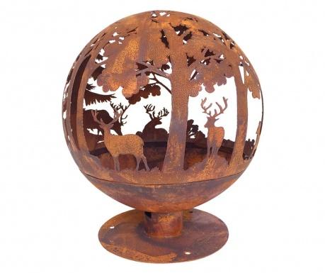 Cos pentru foc Globe