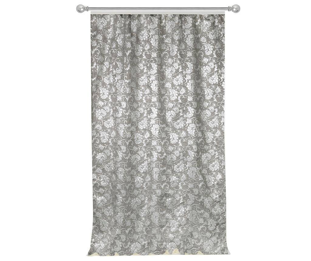 Draperie Acanthus Silvery 140x270 cm