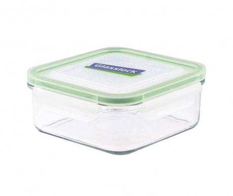 Zdjela s  hermetičkim poklopcem Compact Classic Square Green 900 ml