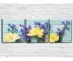 Set 3 tablouri April Love 30x30 cm