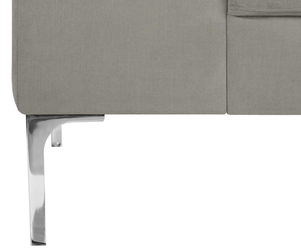 Dillinger Light Grey Háromszemélyes Kanapé