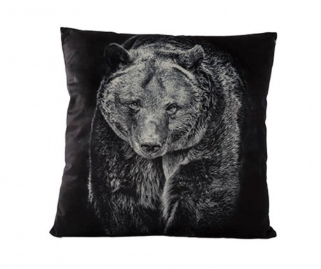 Okrasna blazina Bear Black 45x45 cm