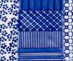 Velik krožnik Art and Craft Blue