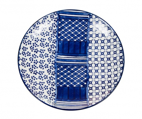 Desertni krožnik Art and Craft Blue
