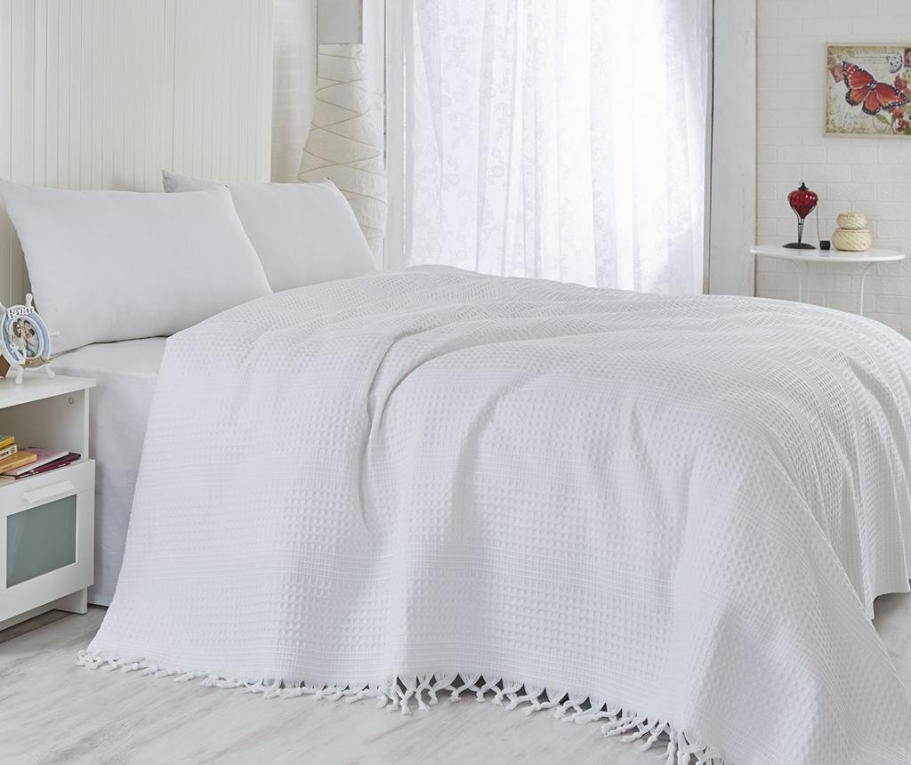 Cuvertura Pique Vulsky White 180x240 cm