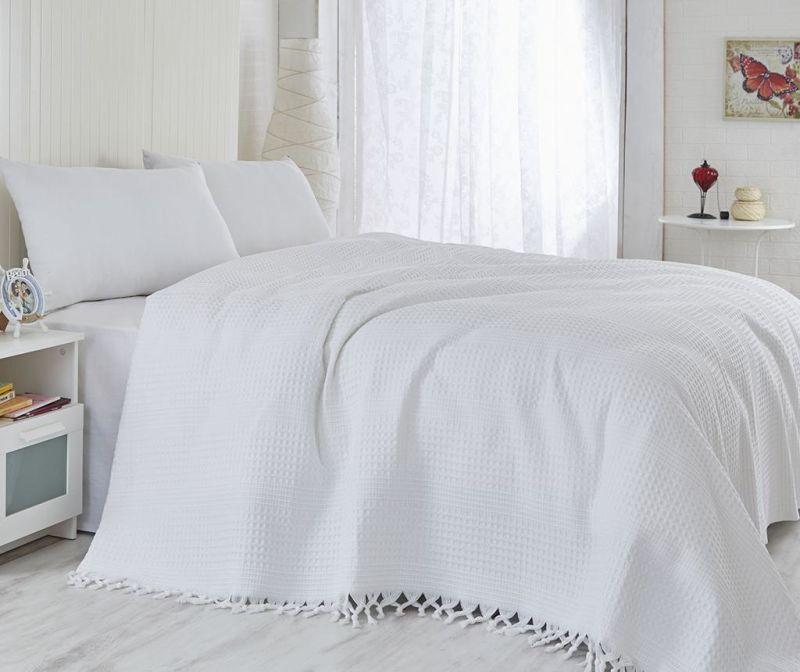 Кувертюра Pique Vulsky White 180x240 см
