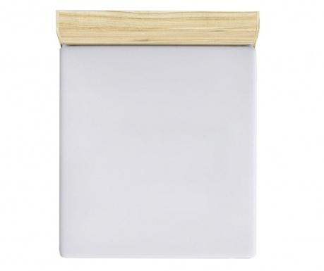 Rjuha z elastiko Mini White 90x190 cm