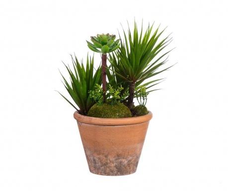 Sztuczna roślina w doniczce Tropical