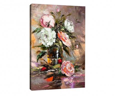 Vintage Roses Kép 50x70 cm