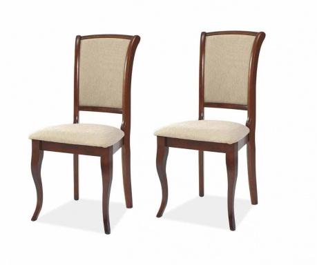 Sada 2 židlí Anahi Cherry