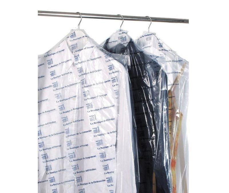 Set 3 huse pentru haine Cassye 65x140 cm