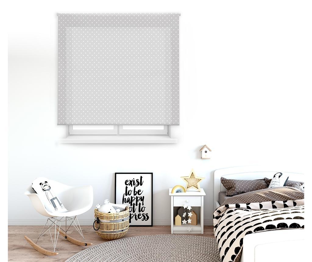Dots Grey Roletta 100x180 cm