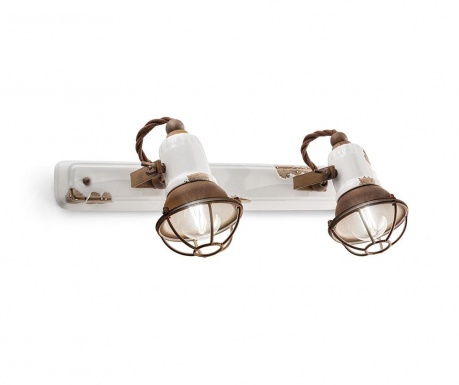 Retro Gabbia Duo Fali lámpa