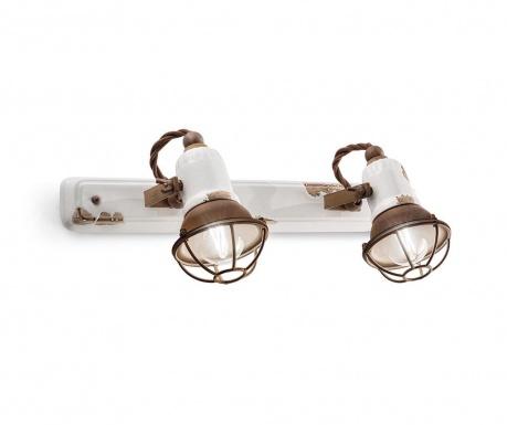 Lampa ścienna Retro Gabbia Duo