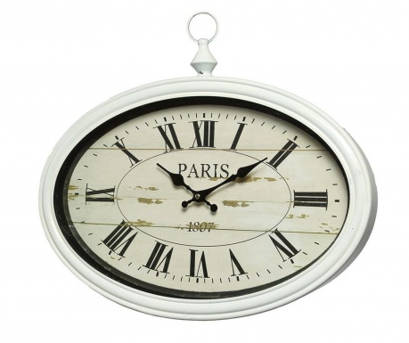 Ceas de perete Paris White