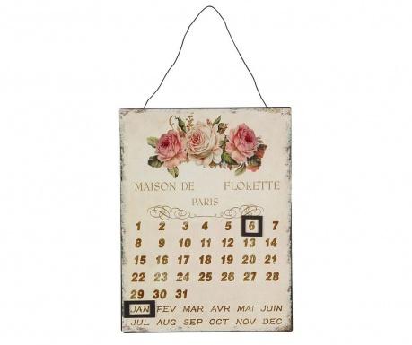 Zidni kalendar Rose