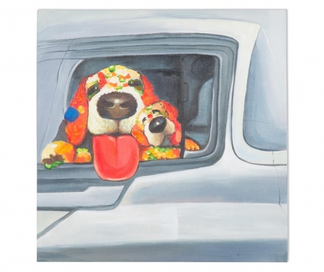 Tablou Arlin Dog 50x50 cm