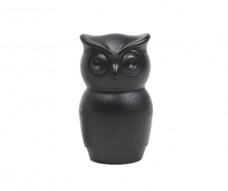 Rasnita pentru sare sau piper Owl Black