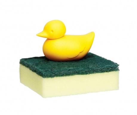 Suport pentru burete de vase Duck Yellow
