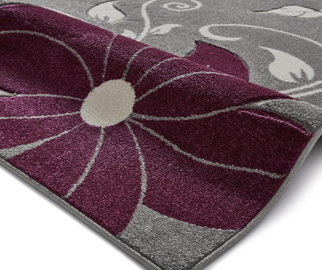 Preproga Verona Grey and Purple 120x170 cm