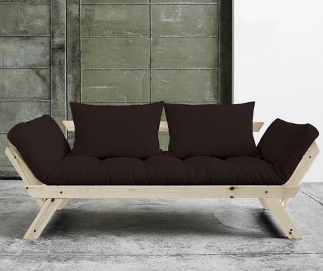 Sofa extensibila Bebop Natural and Brown